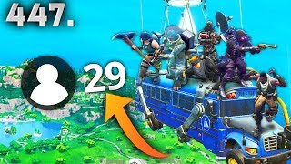 ONLY 29 PLAYER GAME BUG..!!! Fortnite Daily Best Moments Ep.447 Fortnite Battle Royale Funny Moments
