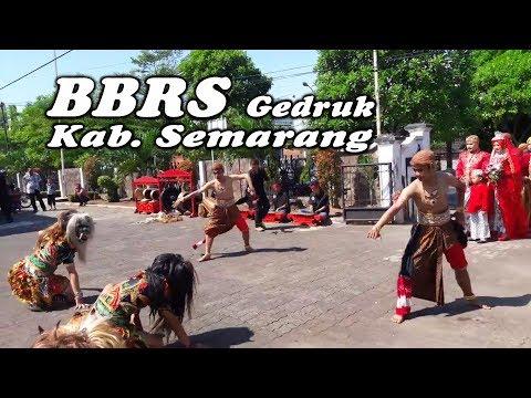 KEREN Banget Kedatangan PENGANTIN di Sambut dengan Tari RAMPAK BUTO - Gedruk BBRS Semarang