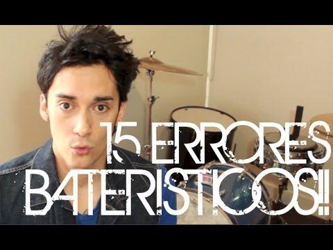 15 Errores Bateristicos!!