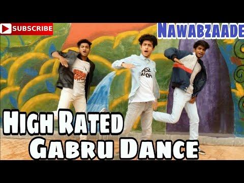 Download Lagu  High Rated Gabru Dance  | Nawabzaade | 2018 | Varun | Remo | Hip Hop Bollywood Dance | Guru Mp3 Free