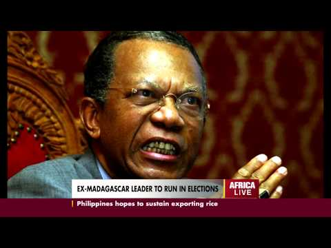 EX-MADAGASCAR LEADER TO RUN IN ELECTIONS