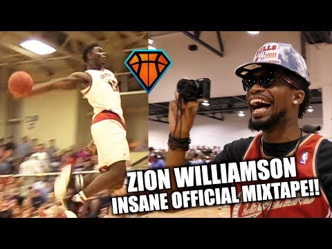 Zion Williamson INSANE Official Mixtape!! | SHUTS THE GYM DOWN in Front of OSN