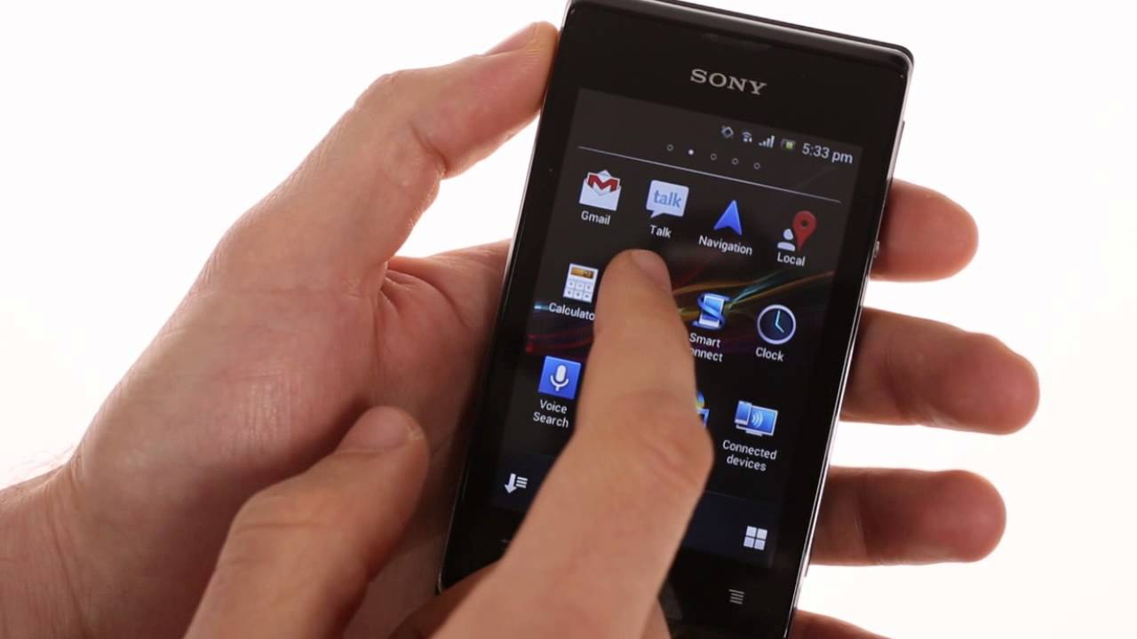 Xperia E Sony Xperia E hands-on