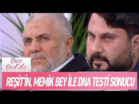 Reşit'in, Memik Bey ile DNA testi sonucu açıklandı! - Esra Erol'da 14 Aralık 2017