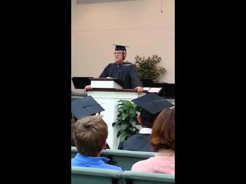 Barnabas Christian Academy 2013 graduation Pastor
