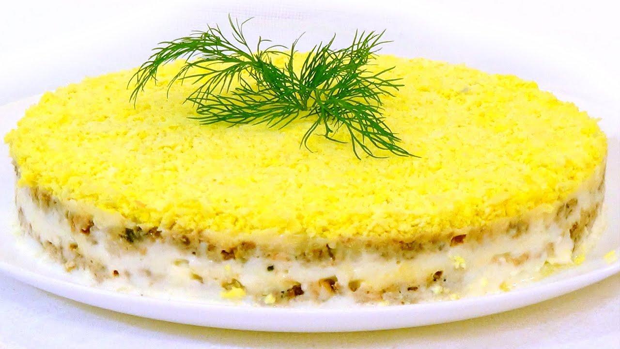 Закусочный торт мимоза рецепт