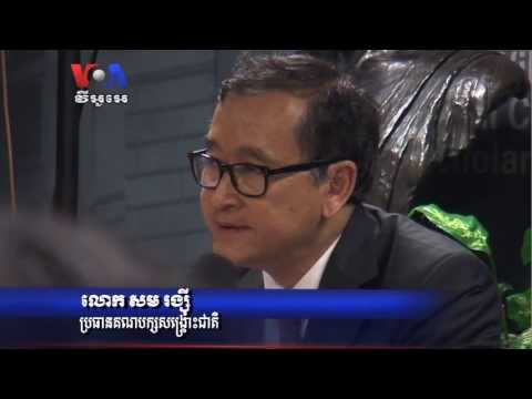 Sam Rainsy Relay voting