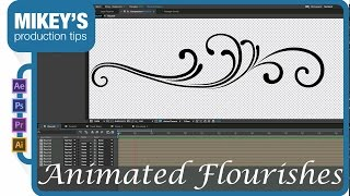 Create Animated Flourishes in After Effects