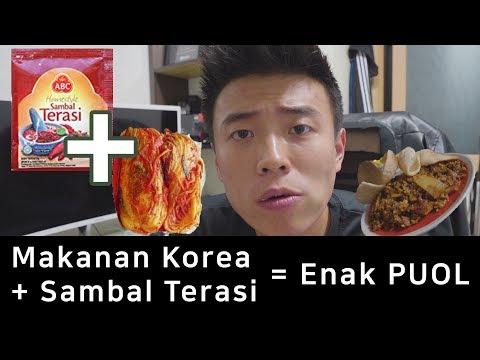 Makanan Korea + Sambal Terasi = ?