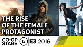 The Rise of the Female Protagonist with Critical Role - E3 2016 GS Co-op Stage