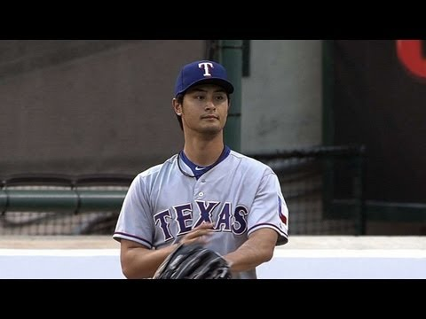 TEX@LAA: Darvish strikes out 11 over six scoreless