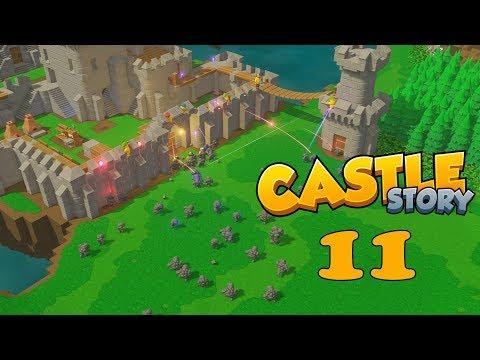 Прохождение Castle Story: #11 - ГЛУПЫЙ ЗДОРОВЯК!