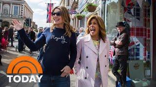 Royal Wedding: Savannah Guthrie And Hoda Kotb Hit The Streets Of Windsor | TODAY