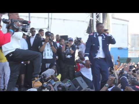 Jay-Z & Jay Electronica @ The Brooklyn Hip Hop Festival 2014