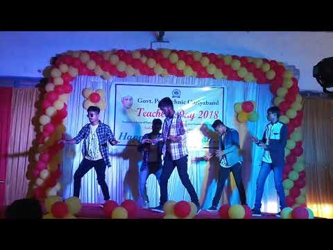 Funny dance remix songs,by govt polytechnic students ,