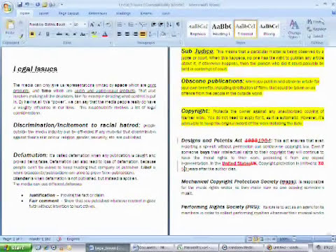 How to use Microsoft Office 2007