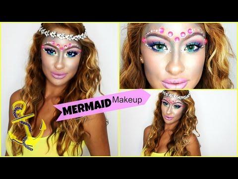 Mermaid Makeup & Hair- Complete Look