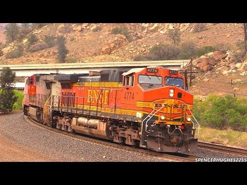 Trains in Tehachapi (March 29th, 2014)