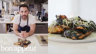 How to Grill the Crispiest Salmon Collars | From the Test Kitchen | Bon Appétit