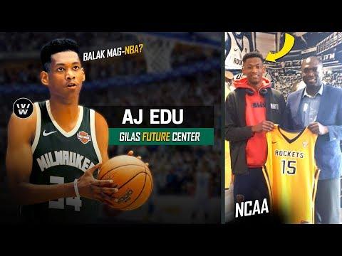 AJ Edu to NBA?   Kamusta na si AJ Edu Ngayong 2018?   Kai Sotto's Partner