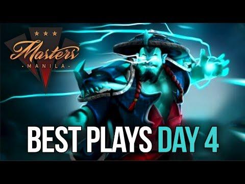 Manila Masters Dota 2 - BEST PLAYS - Day 4