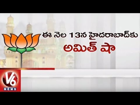 Telangana BJP To Win MIM's Hyderabad Lok Sabha Seat In 2019? | V6 News