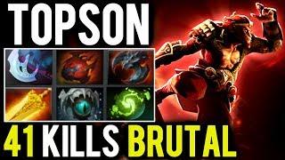Topson Monkey King - 41 Kills Brutal Savage Mode
