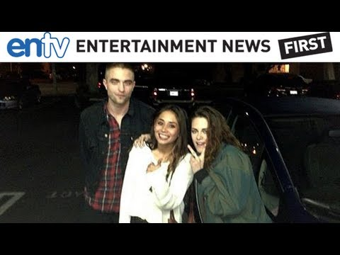 Kristen Stewart and Robert Pattinson Reunite - ENTV