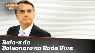 Um raio-x da entrevista do Bolsonaro ao Roda Viva