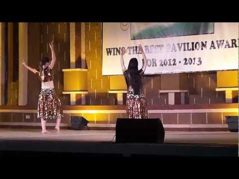 O Radha Teri Chunari Performance In Global Village Dubai 2013 video
