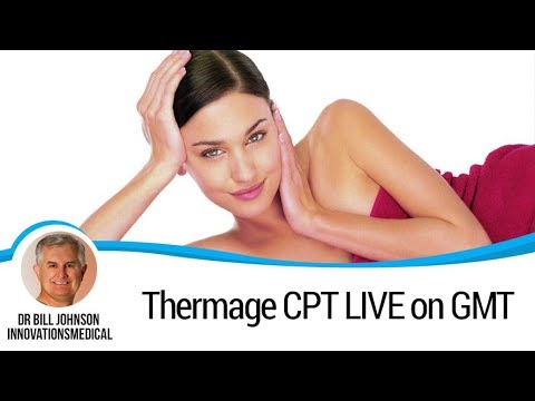Thermage CPT LIVE on GMT - Face Skin Tightening