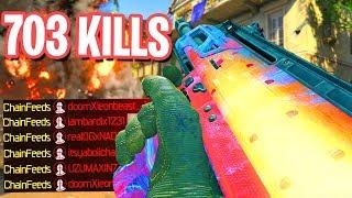 703 KILLS WORLDS MOST KILLS in BLACK OPS 4! - COD BO4