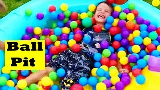 GIANT BALL PIT POOL ~ World
