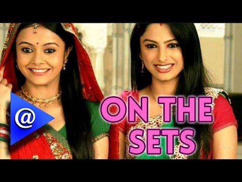 On The Set Of 'saath Nibhana Saathiya' video