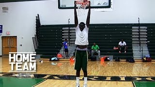 "7'5 Tacko ""Taco"" Fall Is The Tallest High School Player In The World"