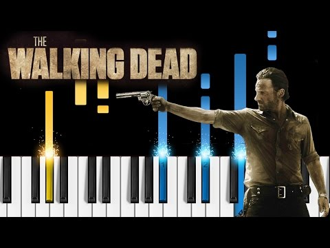The Walking Dead - Main Theme - Piano Tutorial - How to play The Walking Dead on piano