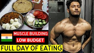 Full Day of Eating - Diet during Lockdown | Indian Bodybuilding diet for Muscle Gain - Vegetarian ??