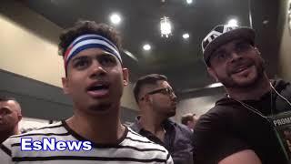 Rolando Romero Wants To KO Shakur Stevenson Ryan Garcia EsNews Boxing