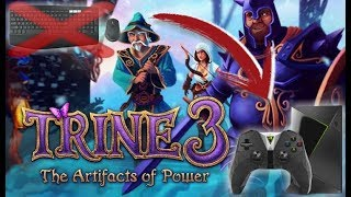 TRINE 3 - Como configurar GAMEPAD - NVIDIA SHIELD (GeForceNOW) STEAM