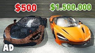 FROM $500 to $1,500,000 (Car Mechanic Simulator)