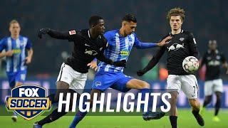 Hertha BSC Berlin vs. RB Leipzig   2018-19 Bundesliga Highlights