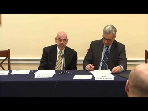 Bicameral Task Force on Climate Change:  Forum on National Security Impacts of Climate Change