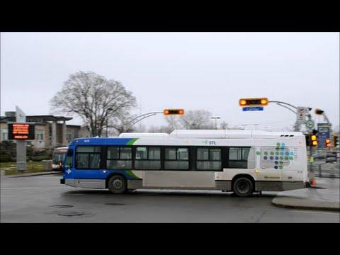 Stl Laval 2014 Nova Bus Lfs Hybrid Amp Older Models In
