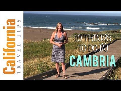 Cambria - California Travel Tips