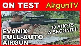 Full auto air rifle: Evanix Giant and Speed tests