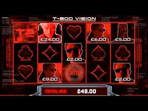 Terminator 2 Online Slot Game Promo