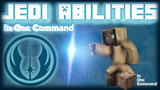 Minecraft - Jedi Powers | USE 21 STAR WARS POWERS [Two Commands] [Force Abilities v2]