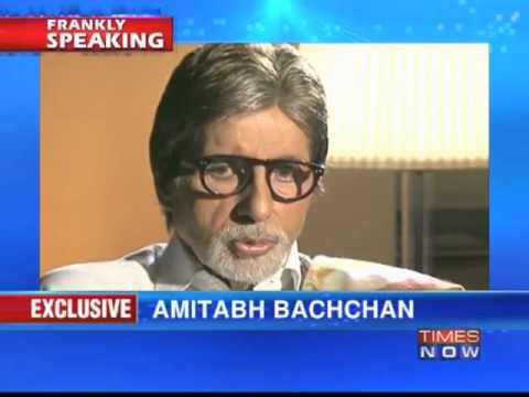 Amitabh Bachchan on Frankly Speaking with Arnab Goswami (Part 3 of 4)