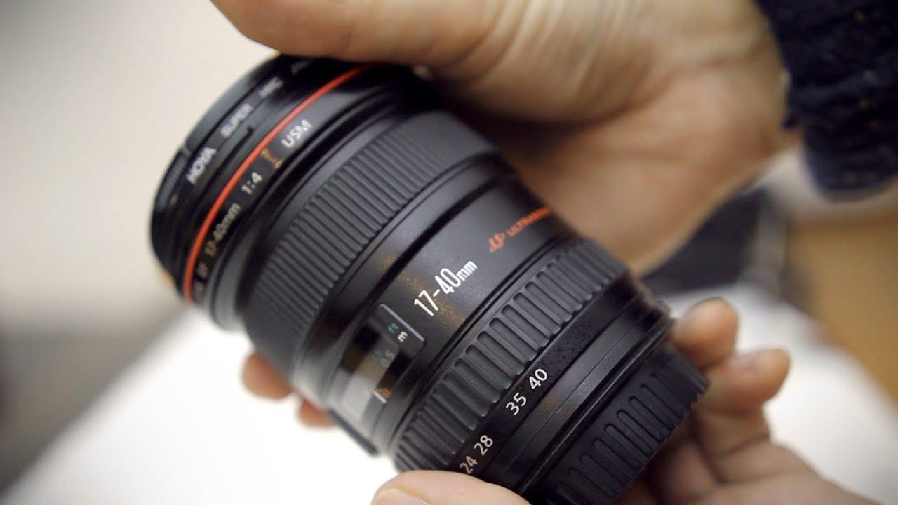 Canon EF 17-40mm f/4 L USM Lens for sale online | eBay