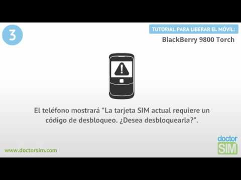 Liberar móvil Blackberry 9800 Torch   Desbloquear celular Blackberry 9800 Torch